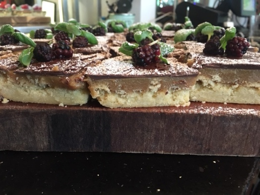 Millionaire shortbread just bakes available daily