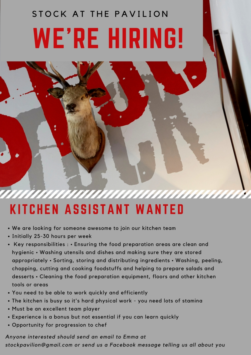 kitchen assistant job