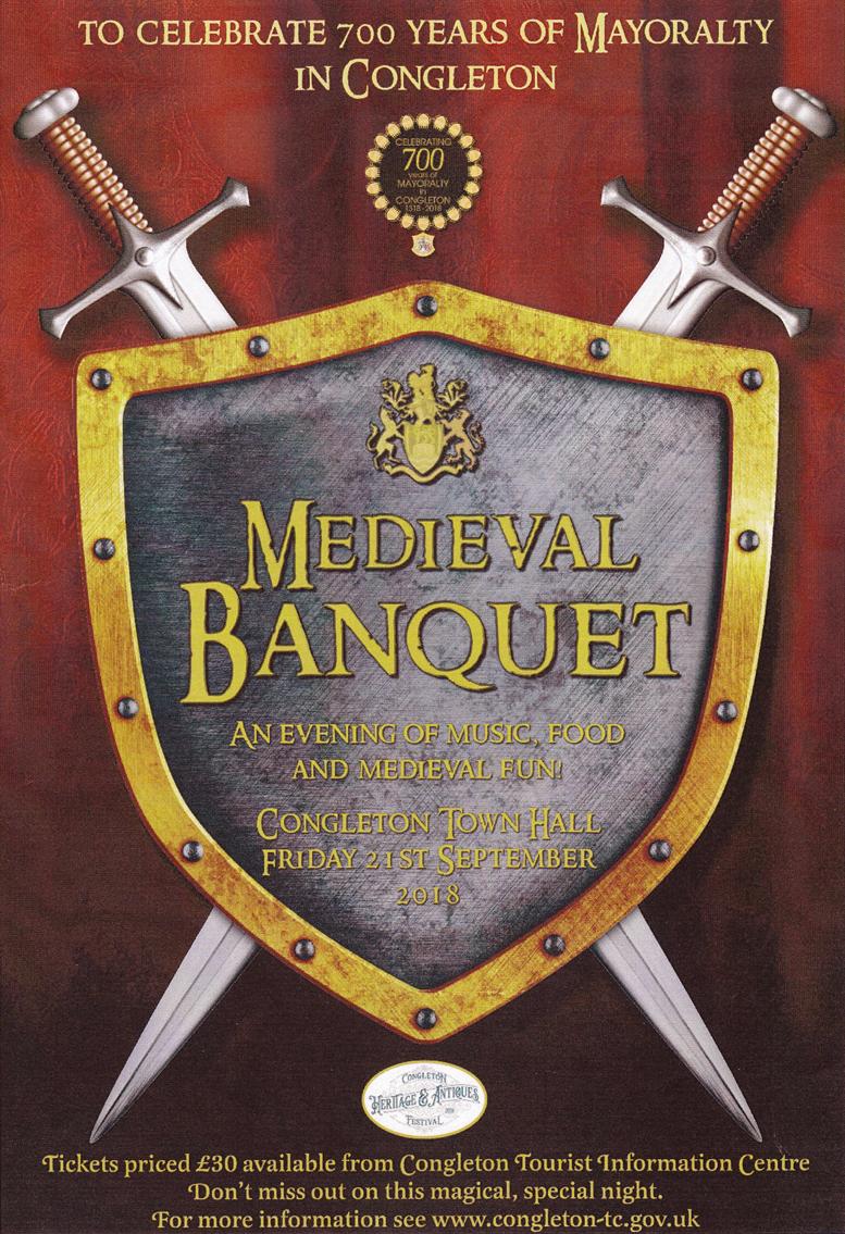 Medieval Banquet - 21st September 2018